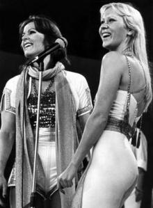 Agnetha and the other one...