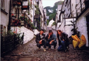 Clovelly, many moons ago